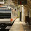 休日の鳩ノ巣駅(その2)