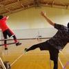 08/25(土) スラックライン体験会 in 矢島体育センター