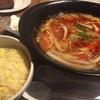 ランチで酸味の効いたスープとトマトが絶妙にあったらーめんが食べれる![レジーナ]