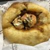 馬場FLATでピザパンとちくわパン(高田馬場)