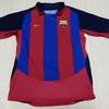 ユニフォーム その242 バルセロナ 2003-2004シーズン ホーム用 半袖 ロナウジーニョ