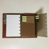 クリアファイルで付箋シートを作ったみた