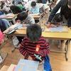 5年生:図工 木版画 一心に彫る