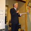佐藤清寿市議の当選をみんなで喜び合い、歌い、これからの奮闘を語りあいました。