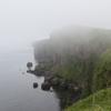 霧多布岬は今日も霧