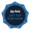 【受賞】トップパブリッシャーアワード「2017年 世界収益ランキング」に28位でランクイン!