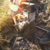 ふたつ目の田んぼの稲刈りは苦労しました!泥脱出のコツは掴んだよ(^^