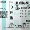 今日の馬券~邁進特別・京都新聞杯・プリンシパルS~