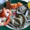 マッキナック島のグランドホテルでバフェの昼食。 期待しすぎに注意しましょう(笑)