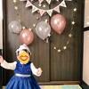 1歳のお祝い、一升餅にスマッシュケーキ、壁に飾り付けして撮影会したよ!