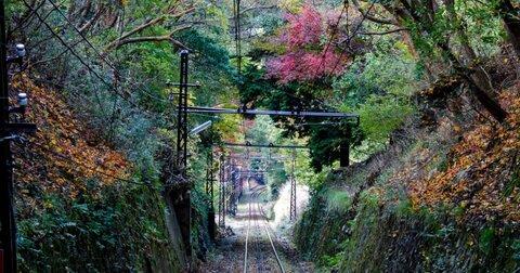 叡山ケーブル乗って比叡山に行く