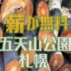 五天山公園管理事務所では定期的に伐採木の配布が行われます 札幌市