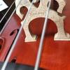 5弦チェロの弦高調整