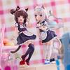 【ネコぱら】1/7『ショコラ~Pretty kitty Style~』『バニラ~Pretty kitty Style~』美少女フィギュア【プラム】より2021年1月発売予定☆