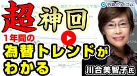 FX「超神回!2021年の為替トレンドがわかる」川合 美智子氏 2020/12/10