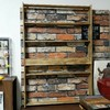 壁掛け出来る収納棚をアンティークワックスと木材でDIY!