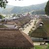 福島日帰り旅行:紅葉を見に大内宿へ