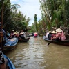 ホーチミン旅行記2日目 メコン川デルタクルーズ+水上人形劇鑑賞+サイゴン川ディナークルーズ