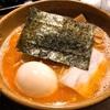 海老味噌つけ麺が…