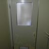 都営住宅 浴室ドア ダイノックシート張り&ドアノブ交換