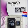 LAZOS microSD 128GB (L-128MS10-U3)のベンチマーク