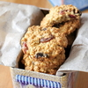 Very berry oatmeal cookies