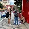 地球(日本)🌎の真裏:ブラジル(サンパウロ)の道端の「手作りマスク」を買ってみる...😷