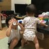 救急車を呼べとせがむ息子、風呂で大暴れの娘 - 年子育児日記(2歳3ヶ月,0歳9ヶ月)