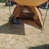 淡路島キャンプへ行く相方さんと初ソロキャンプの計画を練る自分