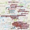 京都のおいしそうな甘味処/和菓子屋/ケーキ屋/パン屋のマップ作成。