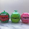 スイカボール、メロンボール、モモボール