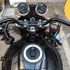 Z900RSのハンドルバー交換しました。コンチハン ハリケーン