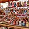 【ロシア旅行】モスクワ:ヴェルニサージュ市場でマトリョーシカ購入!そして宇宙飛行士記念博物館へ。