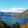 秋の日光・中禅寺湖エリアへ (1)いろは坂の渋滞と中禅寺湖・男体山の眺望