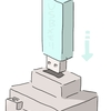 USBの墓を作る