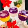 【クリスマスにピッタリ】カルディの「レモングラスバタフライピー」でティーカクテル
