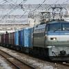 4月21日撮影 東海道線 平塚~大磯間 貨物列車2本撮影 1097ㇾ 2079ㇾ