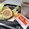 土曜日朝のマクドナルド