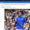 錦織vマレー準々決勝 海外の反応とオッズの変化!【全米オープンテニス】