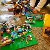 レゴの基礎板のおかげで引きこもり時間が充実している。