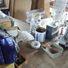 カオス状態の車庫の断捨離はどうなったか。「だわへし(出す・分ける・減らす・しまう)」の法則で作業中。