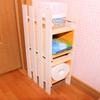 《100均diy》省スペースに置ける小棚の作り方! 一切工具を使いません。