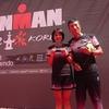 IRONMANグレ、小林さんとシズカちゃんが3位入賞して表彰式!