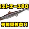 【EVERGREEN】表層特化型の新型ソフトベイト「ラストエース80F」通販予約受付中!