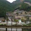 冬の十津川流域、旧大塔村の辻堂
