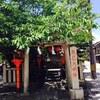 京都 祇園白川 辰巳神社にお参りしました