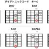 ギター初心者〜中級者におすすめ!ダイアトニックコード表と一覧