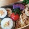 non酢飯で巻き寿司