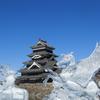 【冬の信州】松本城の氷彫フェスティバルが凄い!
