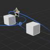 iPhone と Reality Composer で始める簡単 AR その18 - オブジェクトの周りで回転させるアニメーション編
